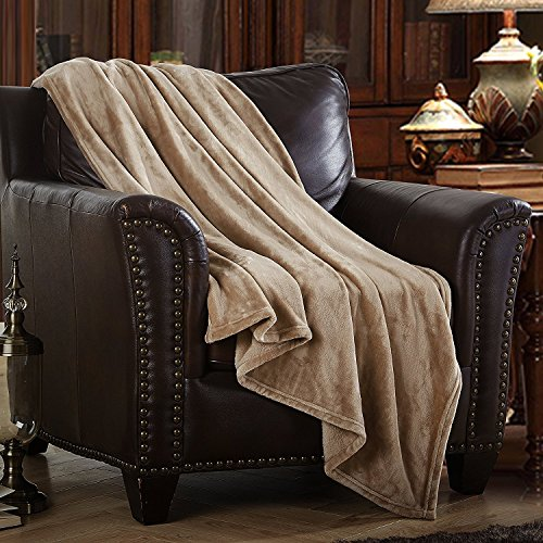 """Price comparison product image Merrylife Decorative Throw Blanket Ultra-Plush Comfort 