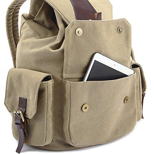 LQABW Studenten Schultaschen Computer Taschen Reisen Freizeit Bergsteigen Rucksäcke Umhängetasche Black