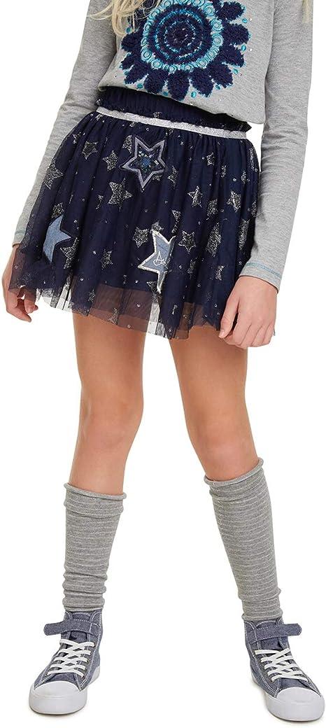 Desigual M/ädchen Skirt Galactic Rock