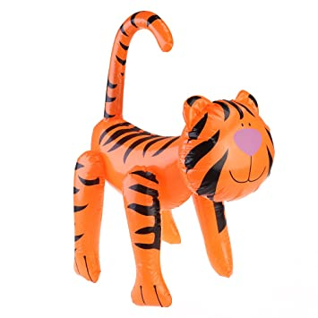 toymy Toy Juguete hinchable de Tiger Blow Up Animales Party ...