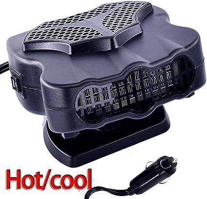 Portable Car Fast Heating Windshield Defroster Demister 2 in 1 Heating Cooling Fan Car Heating Cooling Fan12V 150W