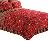 C&F Home Kellyn Quilt, King, Red