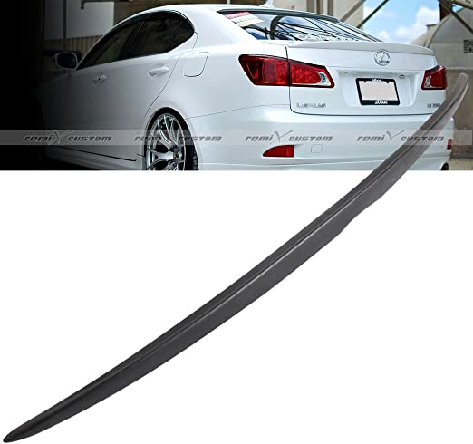 Remix Custom ABS Rear Roof Spoiler Wing Compatible with 2000-2005 Lexus IS300