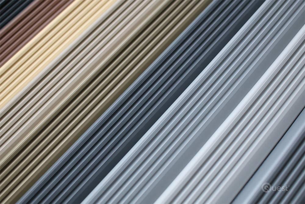 40/x 25/mm 1.1/m Antideslizante Perfil para cantos de escaleras Escaleras /ángulo perfil PVC Goma ND