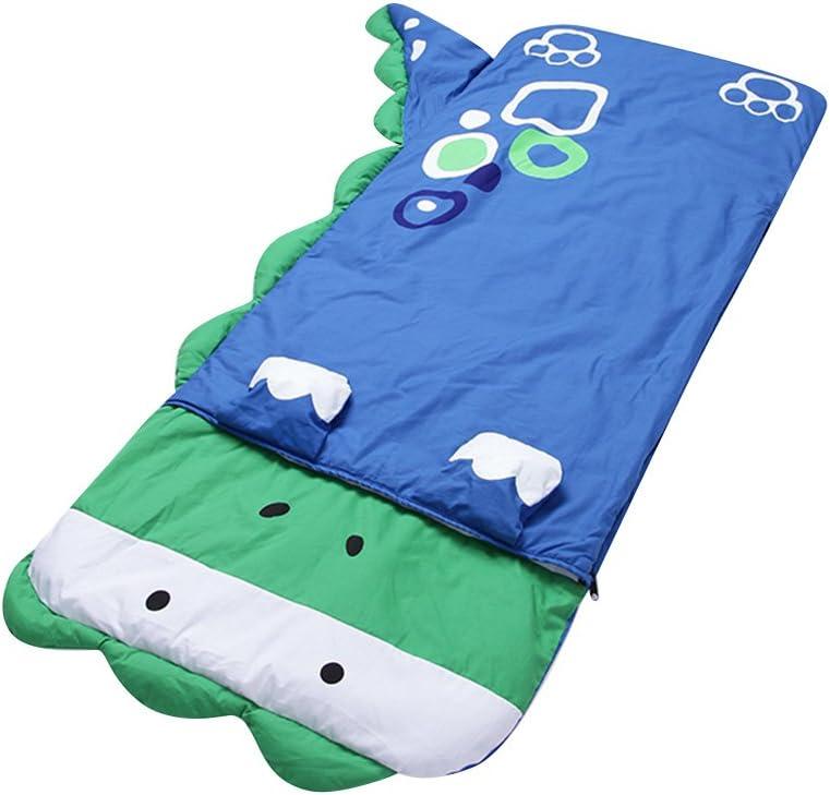 D-Pink cat Lestore Kids Boy and Girl Big Cartoon Sleeping Bag Bunting Bags 140cm60cm