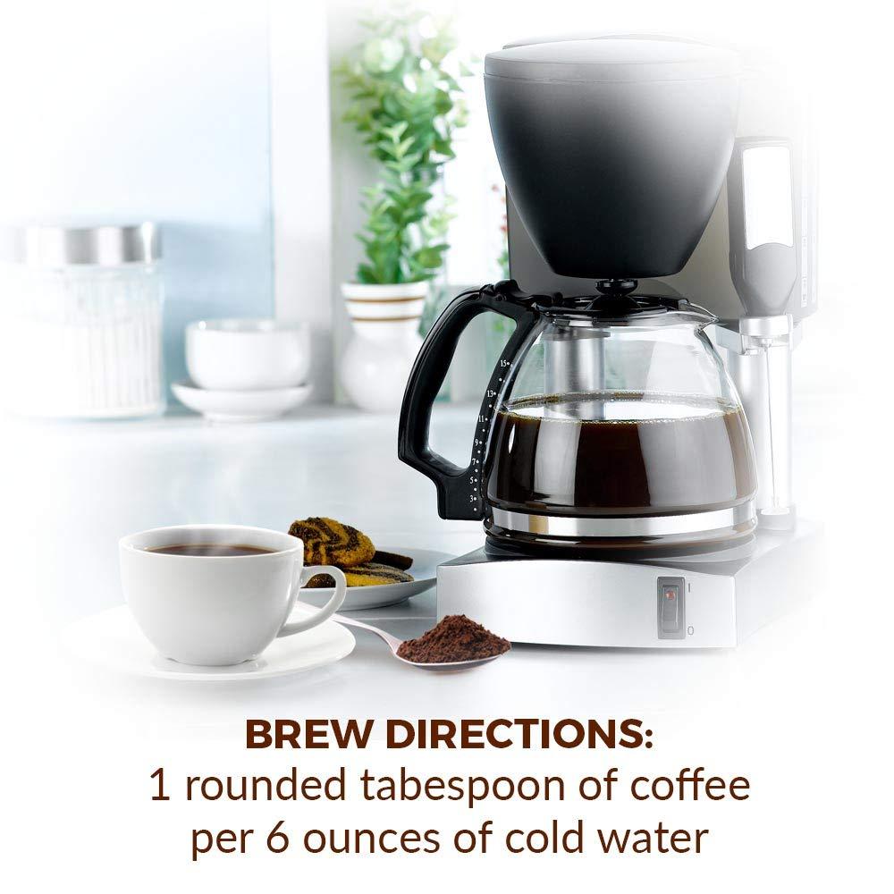 New England Coffee Blueberry Cobbler, Medium Roast Ground Coffee, 11 Ounce Bag by New England Coffee (Image #5)