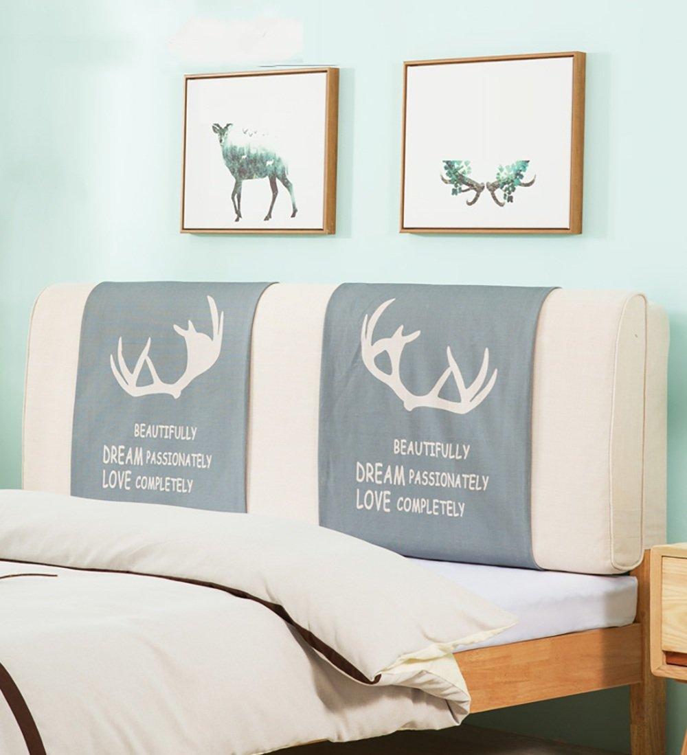 LIQICAI Rêver & Amour Tête de lit Coussin Dossier Soutien pour Unique - Double - Grande taille- Lit Têtes de lit Couverture