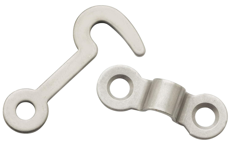 NATIONAL MFG//SPECTRUM BRANDS HHI N211-017 Hook//Staple Satin Nickel