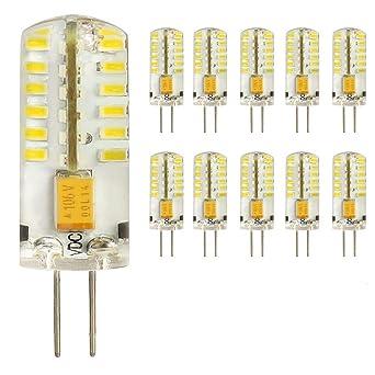 G4 Sockel Stift Led 3 Watt Mit 18 Smd 12v Lampe Leuchtmittel Birne