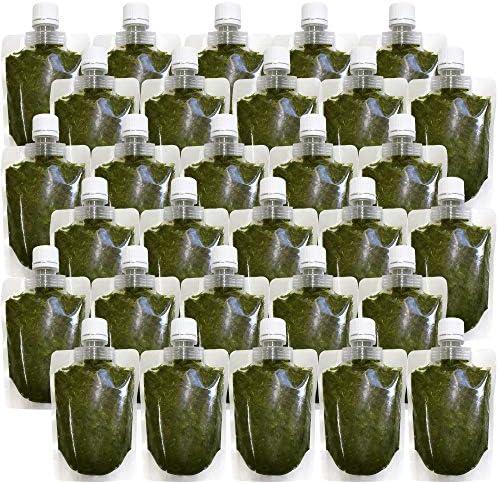 離島 あかもく チューブタイプ 90g×30パック 伊勢志摩 の 離島 で水揚げされた アカモク ギバサ 小分けパック 海藻 湯通し 刻み 加工済 瞬間 冷凍