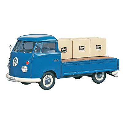 Hasegawa HMCC11 1:24 Scale VW Type 2 Pick-Up Truck Model Building Kits: Toys & Games