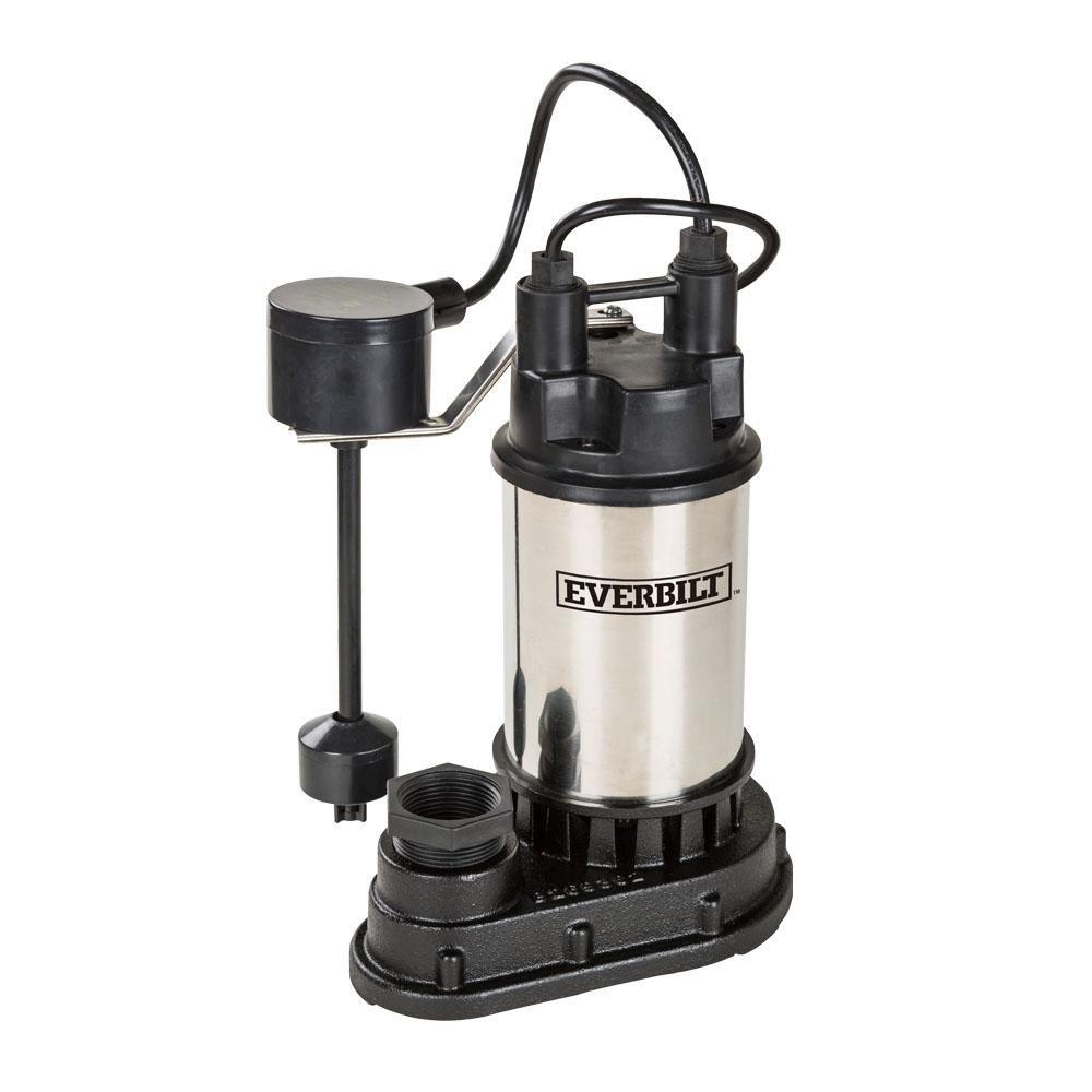 Everbilt 1/3 HP Submersible Sump Pump