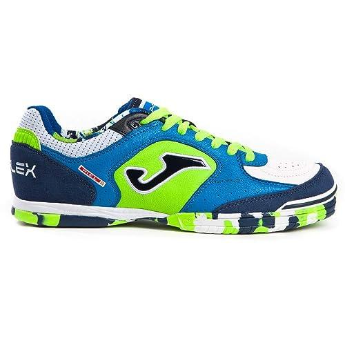 Joma Sport - Zapatillas de fútbol Sala de Cuero para Hombre Multicolor Multicolor Multicolor Size: 43.5 EU: Amazon.es: Zapatos y complementos
