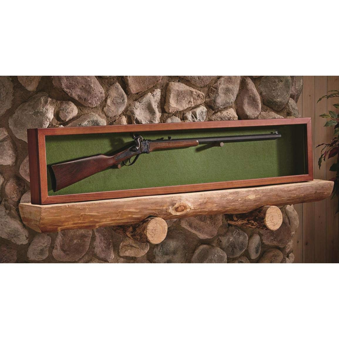 CASTLECREEK Gun Display Case, Walnut by CASTLECREEK
