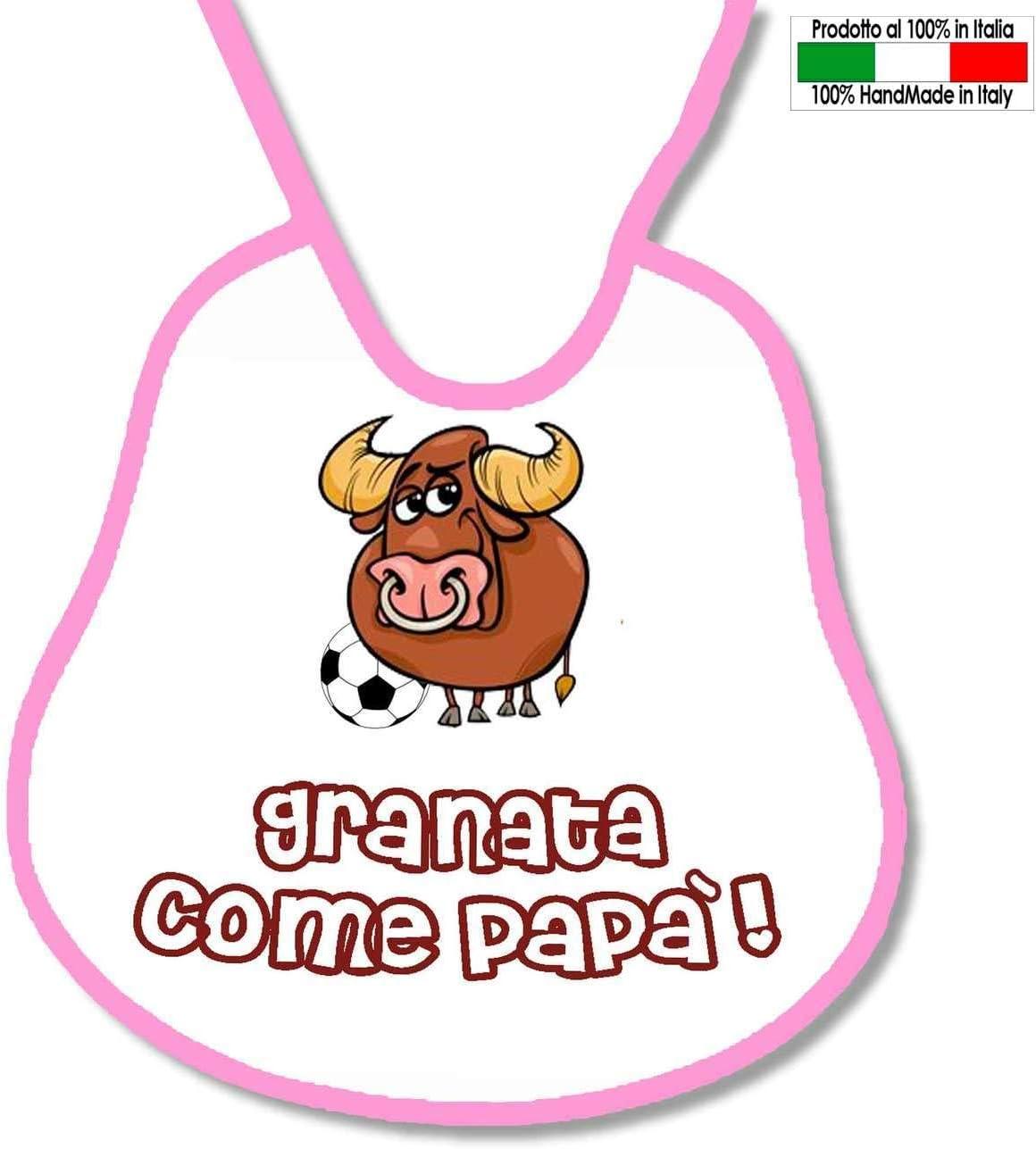 Babero personalizable de futbolín, diseño de Torino Grannata como ...