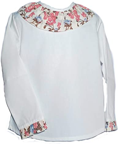 Camisa para Niñas 100% Algodón |Tallas Entre 3 y 10 Años | Blusas ...