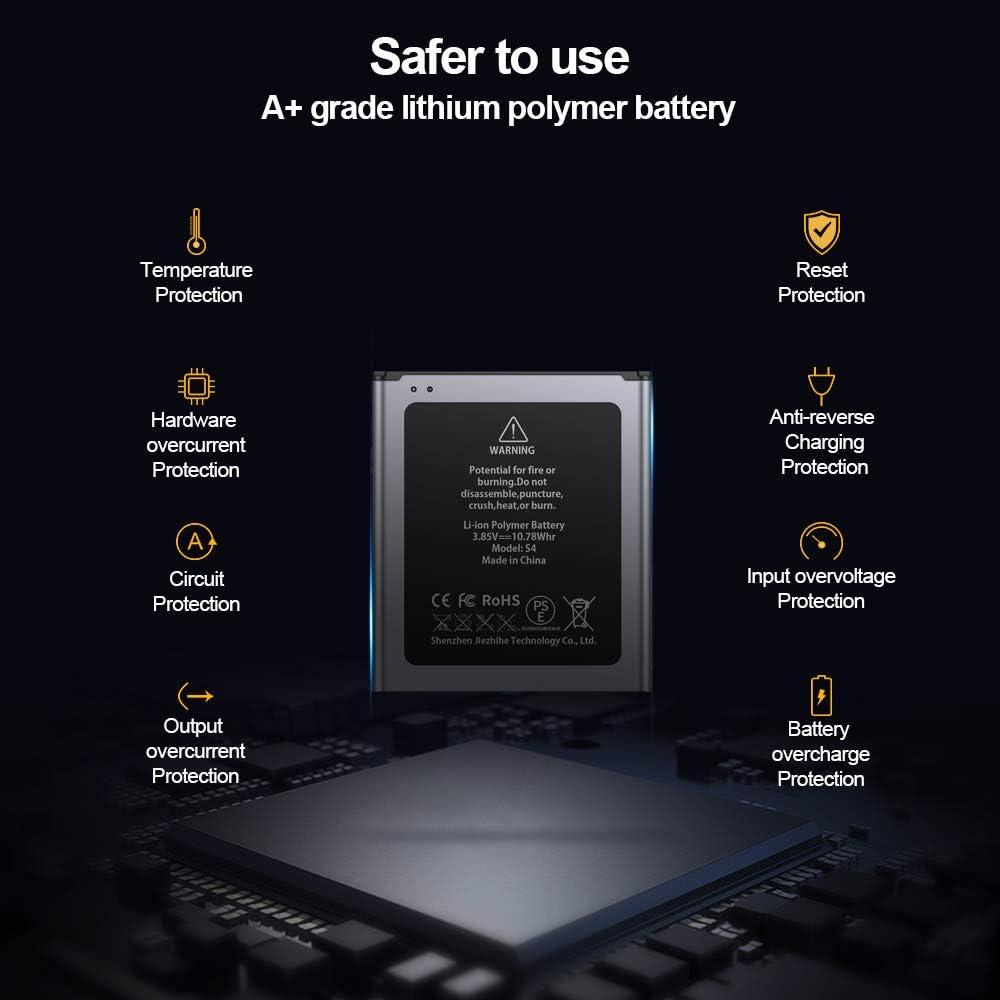 ZMNT 2800mAh Akku f/ür Samsung Galaxy J3//J5 OHNE NFC Ersatz der Verbesserte Kapazit/ät Interner Lithium-Ionen-Akku f/ür Samsung j3//j5 EB-BG530BBC