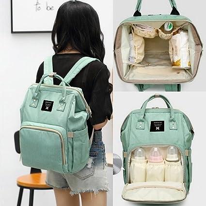 Amazon.com : Boby Diaper Bag Backpack for Baby Girls Boys Unisex Mom Dad Maternity Hospital Back Pack Large Capacity Tote diaperbags for Multiple Bottles ...