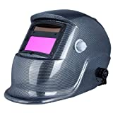 KKmoon Auto Darkening Solar Powered Welding Helmet Welders Mask Arc Tig Mig Grinding with Washable Sweat Band