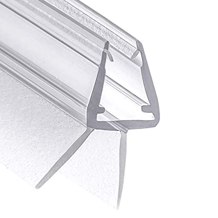 100 cm Wellba Duschkabinen-Dichtung für Glasstärken von 6mm 7mm oder 8mm für Duschtüren & Glastüren - Ersatz-Dichtung Duschdi