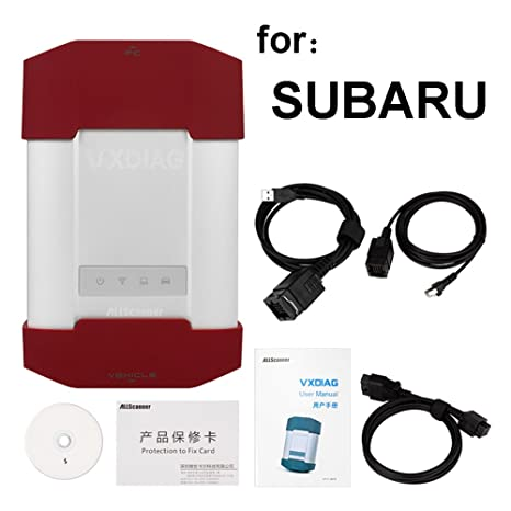 VXDIAG-PW120 Auto Diagnostic Tool Compatible with SSM-III Software Work for  Subaru Forester for VRX for Outback for Legacy OBDII Scanner ECU Engine