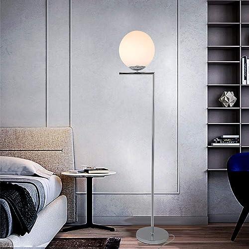 KARMIQI Modern Globe Floor Lamp Mid Century Tall Floor Lamp