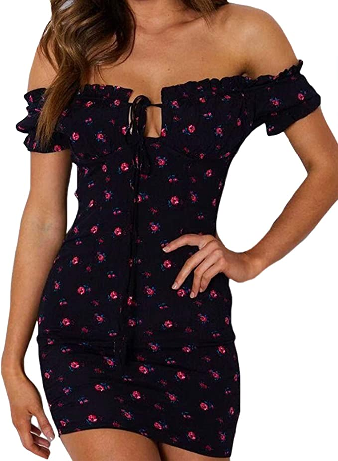 IKRUSH Womens Mimi Floral Cut Out Shoulder Playsuit
