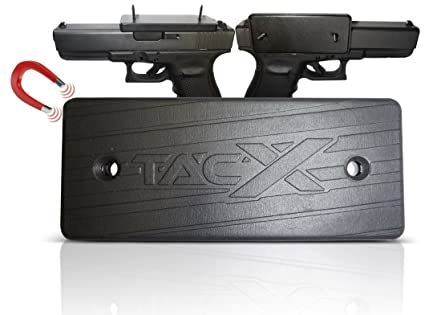Amazon TacX Pro Gear Gun Magnet Mount Car Truck Desk Safe Awesome Gun Safe Magnetic Magazine Holder