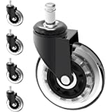 "Herrman 3"" Chair Caster Wheel Replacement Protecting Hard Wood Floor 