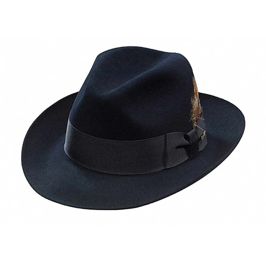 6800c3ad3e18b Stetson Men s Sttson Temple Royal Deluxe Fur Felt Hat at Amazon Men s  Clothing store