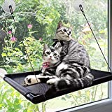 Cat Window Perch Hammock Cat Bed Kitty Sunny Seat Durable Pet Perch With Upgraded Version 4 Big Suction Cups Cat Bed Holds Up To 60lbs