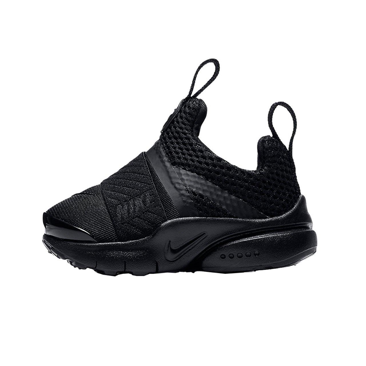 Nike Boy's Presto Extreme Toddler Shoe, Black/Black, 9C