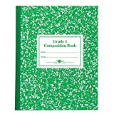 Roaring Spring Grade 1 Composition Book, 10'' x 8'', 50 sheets, 5PK