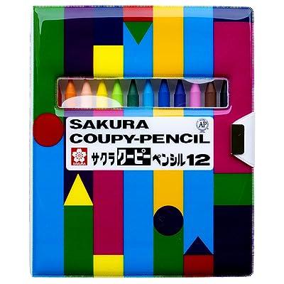 サクラクレパス クーピーペンシル 12色