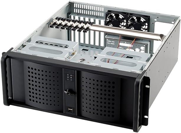 Carcasa de Servidor Rack Cableada, 7 Ranuras PCI Fantec TCG-4800X07-1