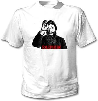 teesquare1st Rasputin 1 Camiseta Blanca para Hombre de Algodon ...