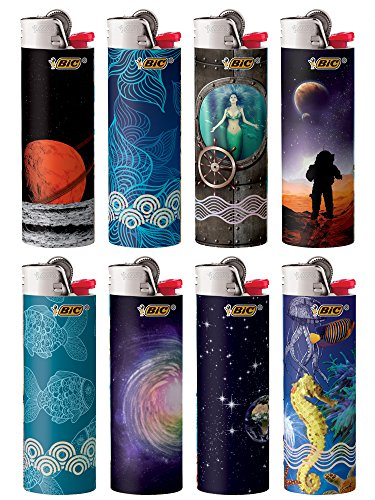 BIC Special Edition Exploration Series Lighters
