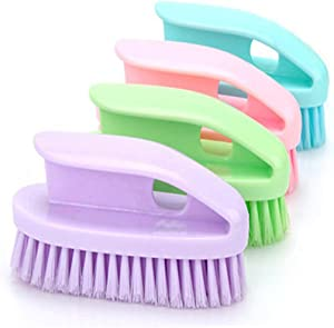 4Pcs Household Plastic Clothes Shoes Laundry Scrub Brushes Cleaning Tool