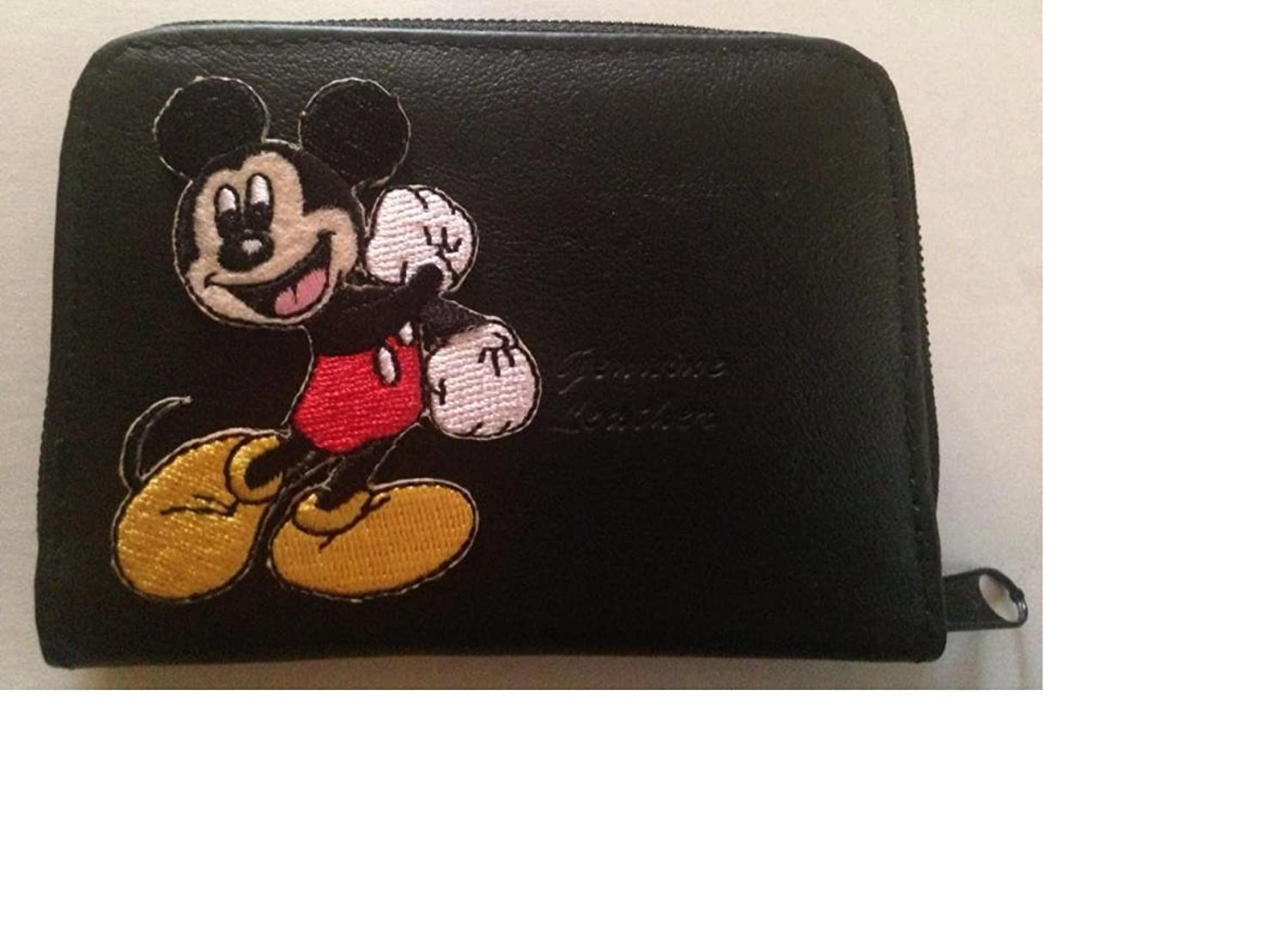 Mickey Mouse Leather Wallet Credit Card / ID Holder at Amazon ...