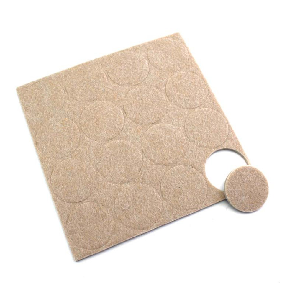 Simplewoo Round Self Adhesive Furniture Felt Pads For