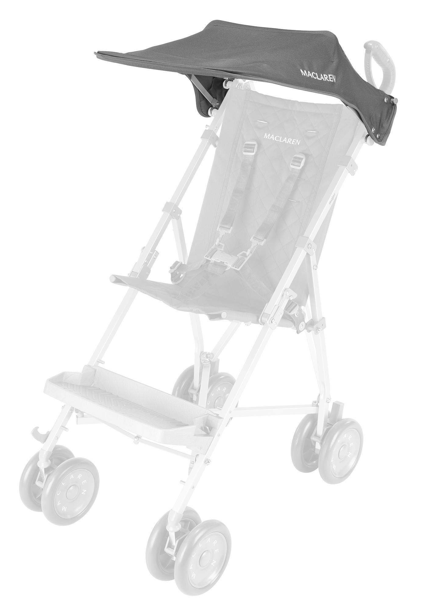 Maclaren Major Elite Push Chair, Sunshade, Charcoal Color