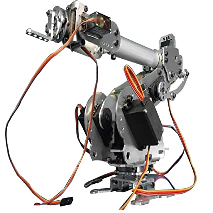MagiDeal 6-Axis Robot Arm Mechanical Robot Arm Industrial