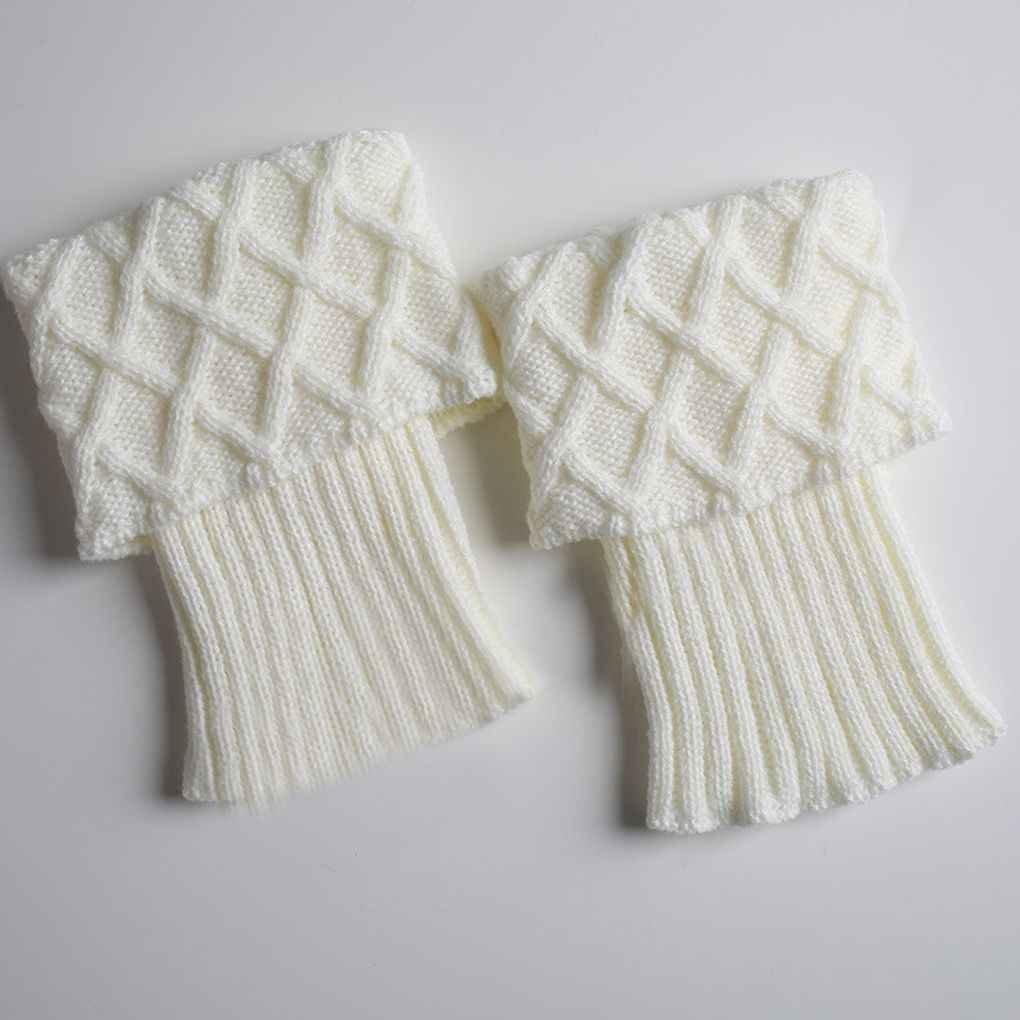 Bobury 1 par Mujeres niñas Botas Cortas Calentador de piernas de ...