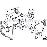 BMW Genuine Belt Drive Water Pump/Alternator Fillister-Head Screw M10X25 525i 320i 323i 325i 325is 328i M3 M3 3.2 525i 528i 530i 320i 323Ci 323i 325Ci 325i 325xi 328Ci 328i 330Ci 330i 330xi M3 X5 3.0i