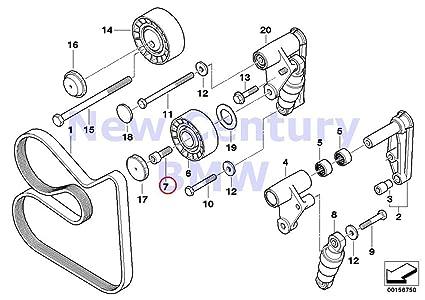 Amazon 2 X BMW Genuine Belt Drive Water Pumpalternator. 2 X BMW Genuine Belt Drive Water Pumpalternator Fillisterhead Screw M10x25 525i. BMW. Belt Diagram 99 BMW 323ci At Scoala.co