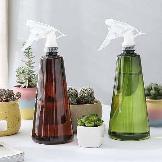 MumuXiDy Botella de Spray de plástico de 750 ml Pulverizador de Niebla de Agua Atomizador de Humedad de jardín Planta de Maceta Flores Pulverizadores de Agua Gadgets de Limpieza: Amazon.es: Jardín