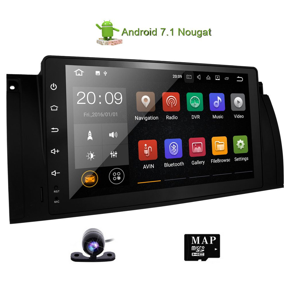 Touchscreen Head Unit For Bmw E39 E53 M5 X5 Car Stereo 9 Adding 2 Quad Breakers Electrical Diy Chatroom Home Improvement Inch Navigation Android 71 Radio With Bluetooth Hands Free Calling Built In Wifi Gps