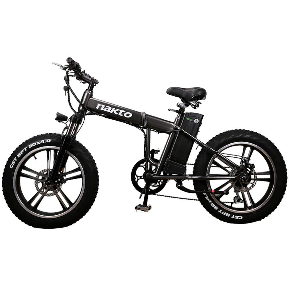 MERRYHE Bicicleta De Montaña Eléctrica De 20 Pulgadas 350W 48V ...