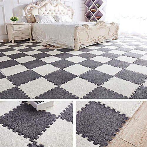 Bedroom Floor Carpet Kids Play Rug Memory Foam Mat Area Rug Fantasy White Castle