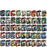 Marvel Avengers Iron Man Assemble Pack of 45 Block Toys Compatible with Lego
